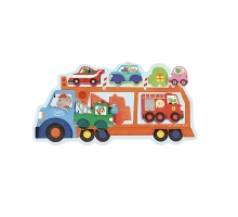 Car Transporter Truck Puzzle