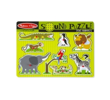 Sound Puzzle - Zoo Animals
