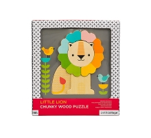 Chunky Wood Puzzle - Little Lion